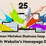 25 Common Mistakes Business keep making with Website's Homepage Design